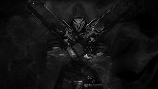 Steam Workshop Reaper Overwatch Wallpaper By Sas