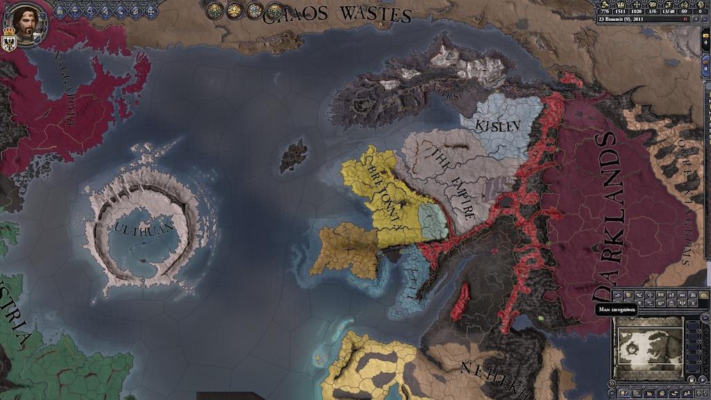 Steams gemenskap :: Skärmdump :: Warhammer fantasy map, I Love this mod
