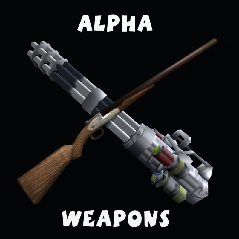 Alpha Weapons/Skins Pack
