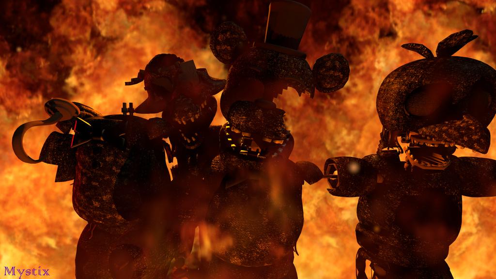 Steam Atölyesi :: Final Nights 2 - Burnt Animatronics Pack