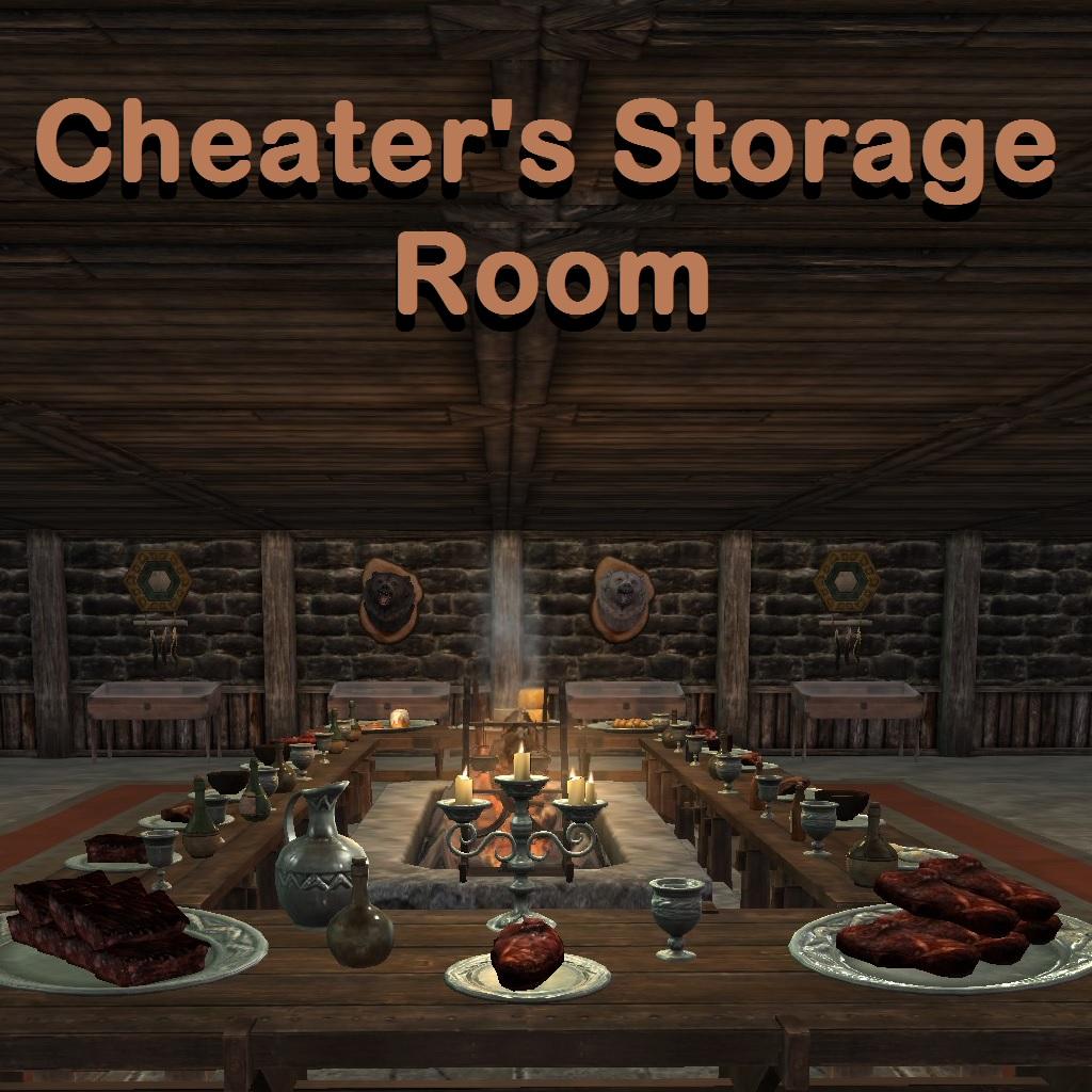 Cheater's Storage Room画像