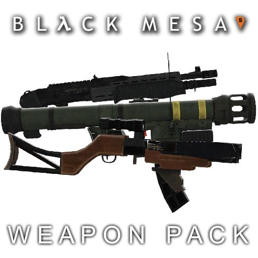 Black Mesa: Source Weapon Pack
