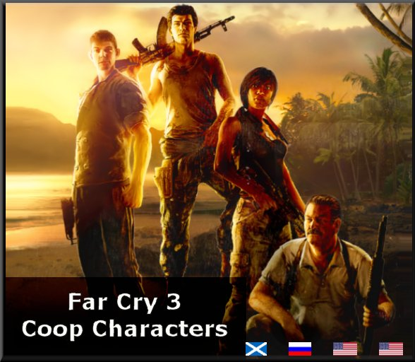 Steam Workshop Far Cry 3 Coop Characters Voice Pack Wtr