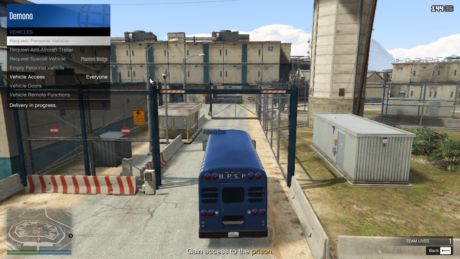 Steam Community Guide How To Get A Vehicle Into The Prison During The Prison Break Heist Finale