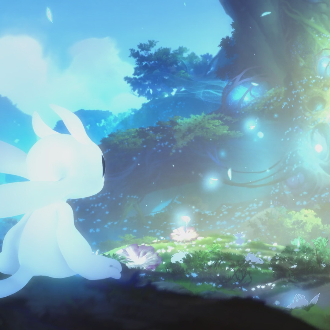 Wallpaper Engine - Ori and the Blind Forest Scene + Calming OST 1080p 60fps