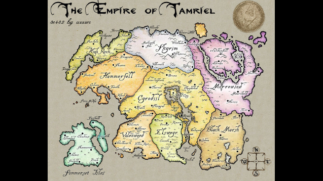 Steam workshop tamriel map puzzle jigsaw the elder scrolls gumiabroncs Image collections