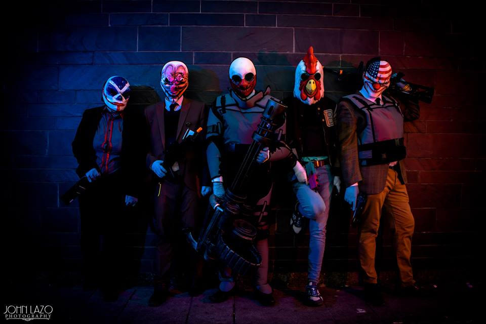 Steam Community       Payday 2 group cosplay shot  MCM London May 2017  d65b2fe03fe8