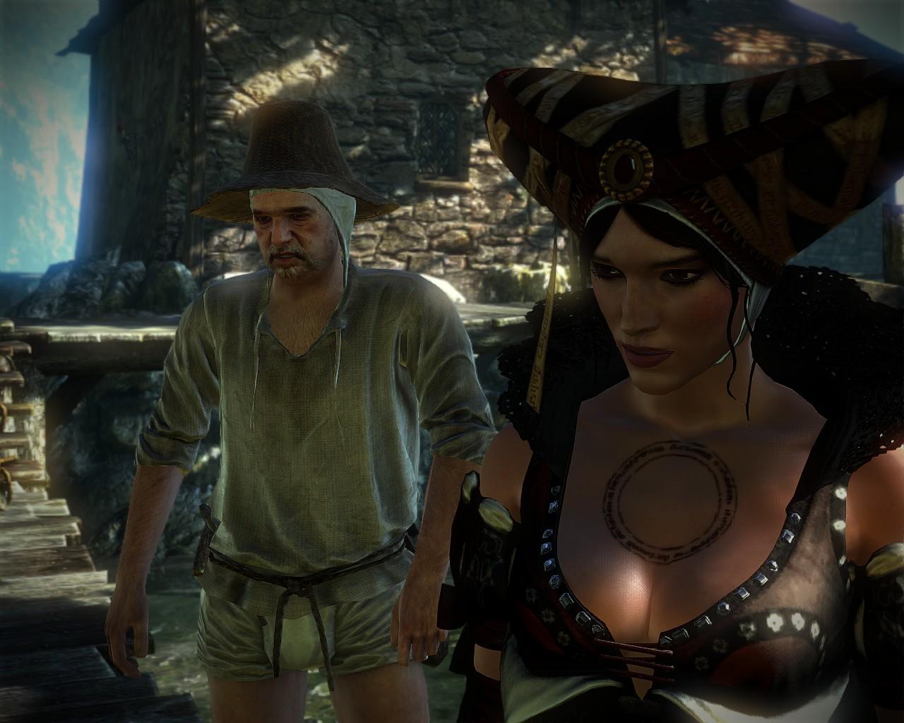 The witcher 2 assassins of kings сиськи