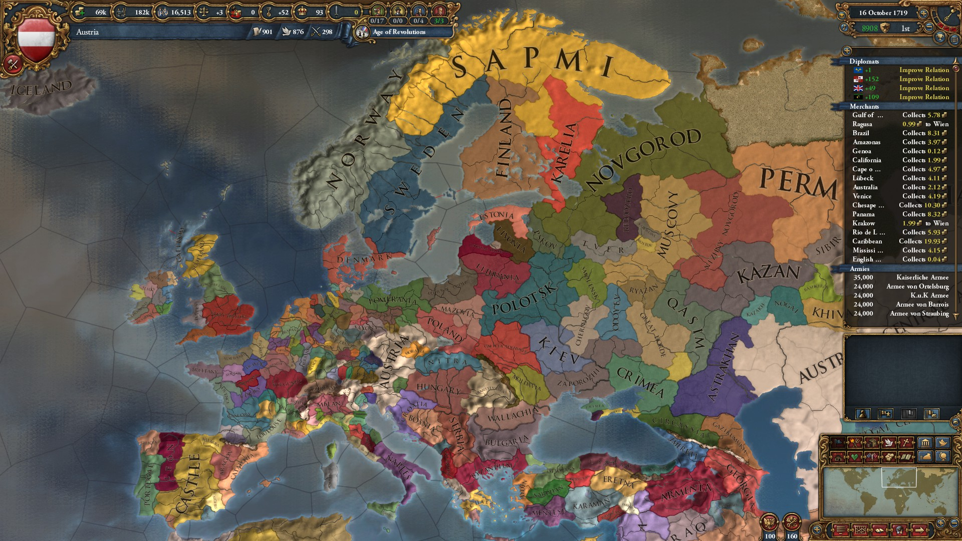 213 princes in the HRE! The hunt for the most princes