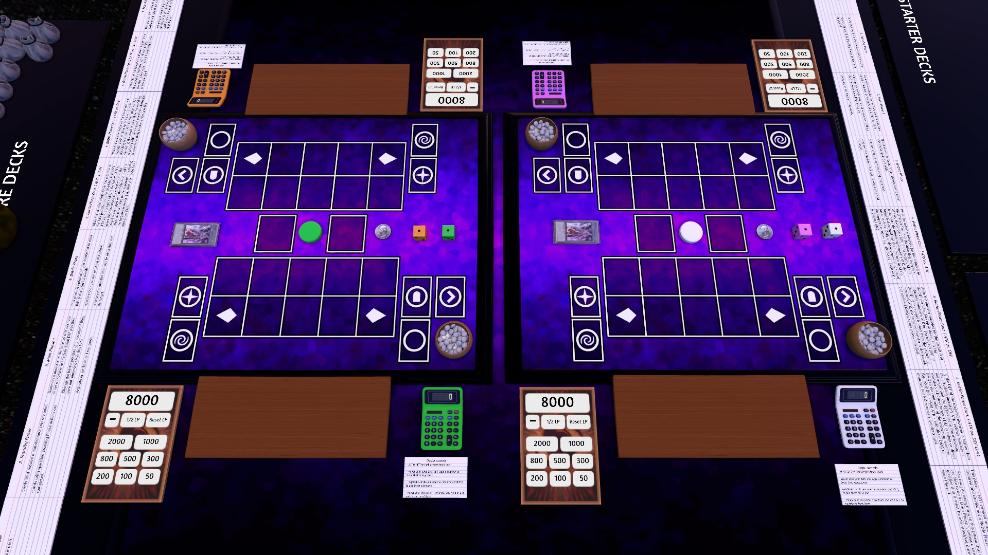 Oficina Steam :: Yu-gi-oh Links 4 player Table   Contains