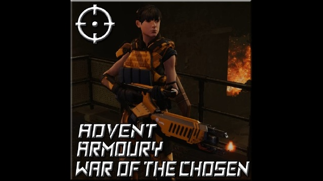Advent Armoury War Of The Chosen Advent Flamethrower Skymods