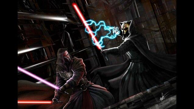 Steam Workshop Star Wars Expanded Universe 0 Darth Revan Vs Darth Nihilus