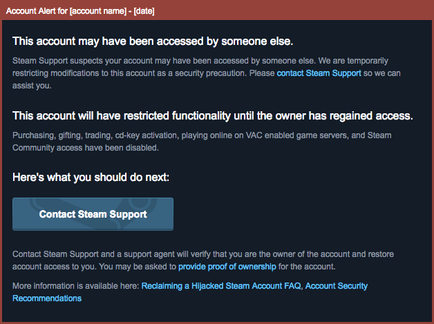 Steam Community :: Guide :: Bans on Steam