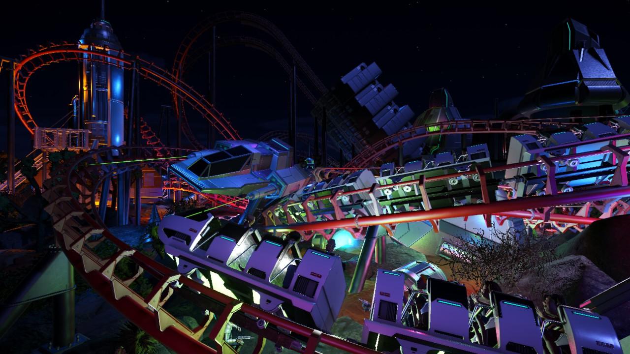 Intergalactic Battle [dueling coaster]