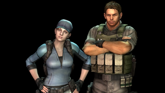 Steam Workshop Chris Redfield Jill Valentine Resident Evil 5