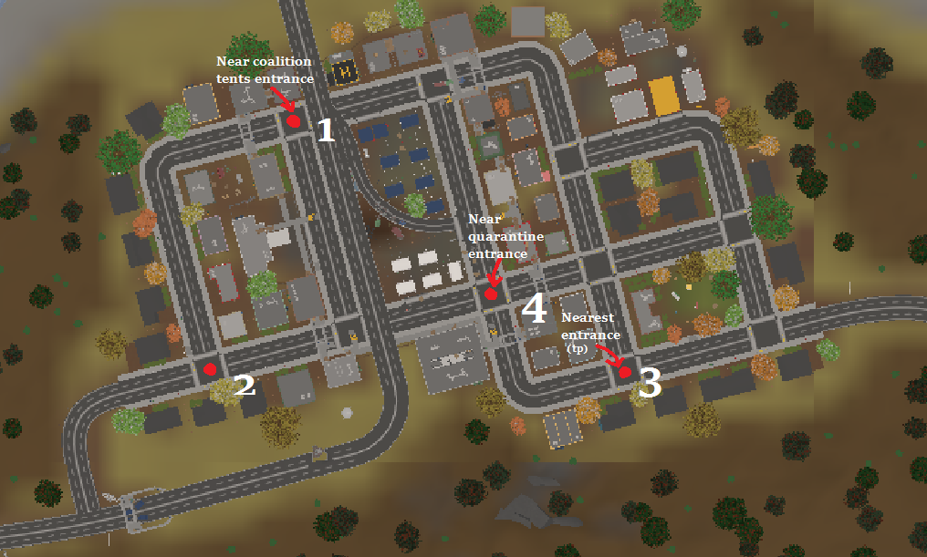 Steam Community Guide Unturned Berlin Sewer Map WITH TIPS - Berlin map unturned