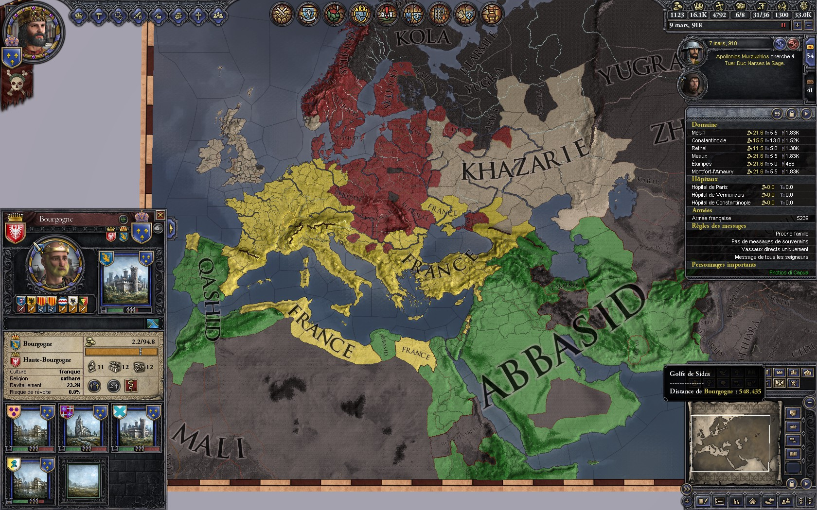 Defensive pact is just an other way to color the map