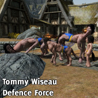 Tommy Wiseau Defence Force画像