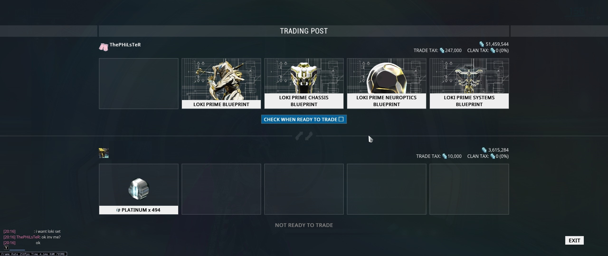 Warframe loki prime cost - Loki Prime Was Worth 90 Platinum Before He Was Vaulted His Rate Of Increase Is Rated At High These Five Sets I Sold Via The Warframe