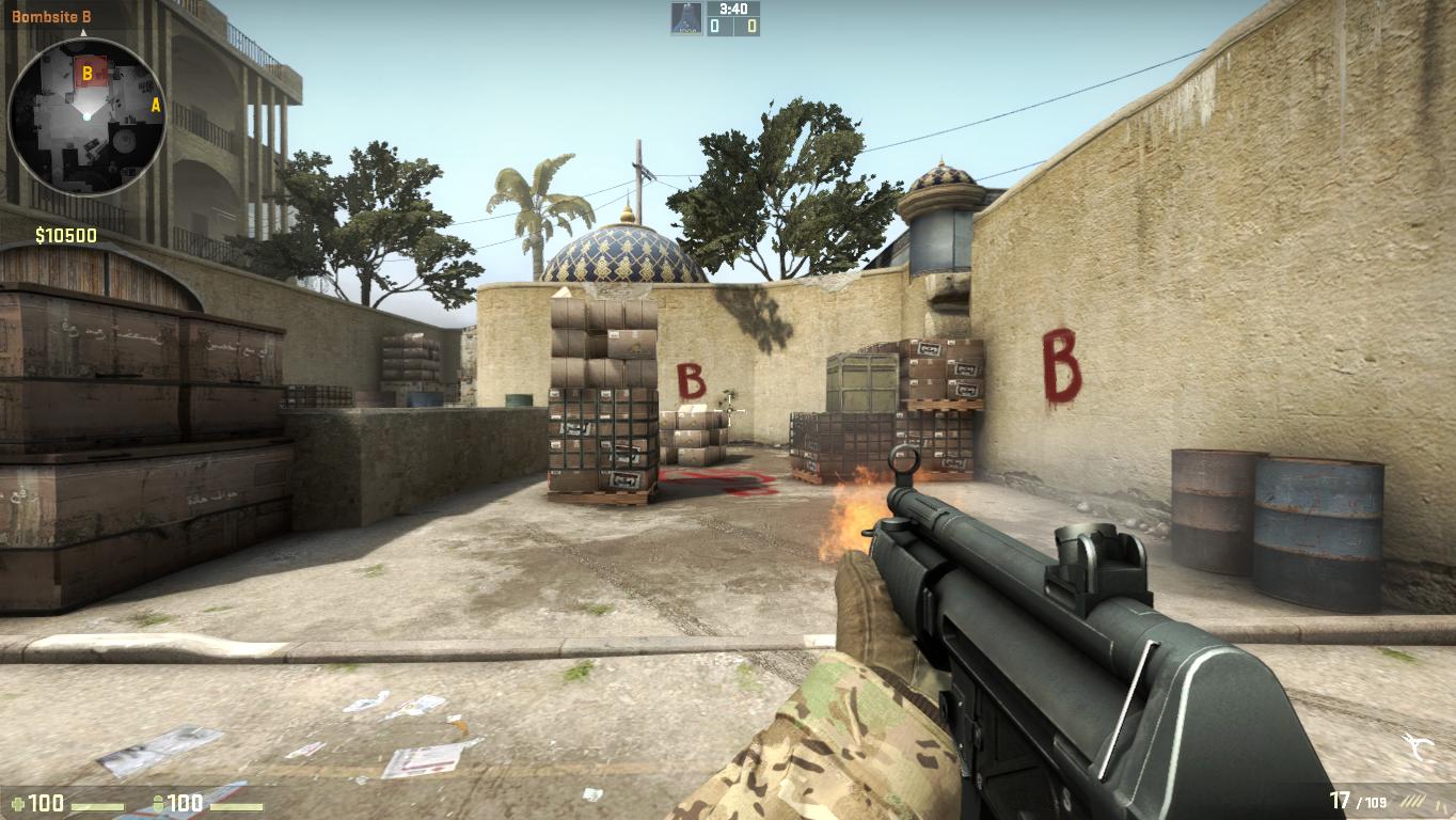MP5 в cs go
