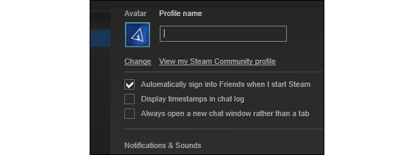How to delete chat history on steam