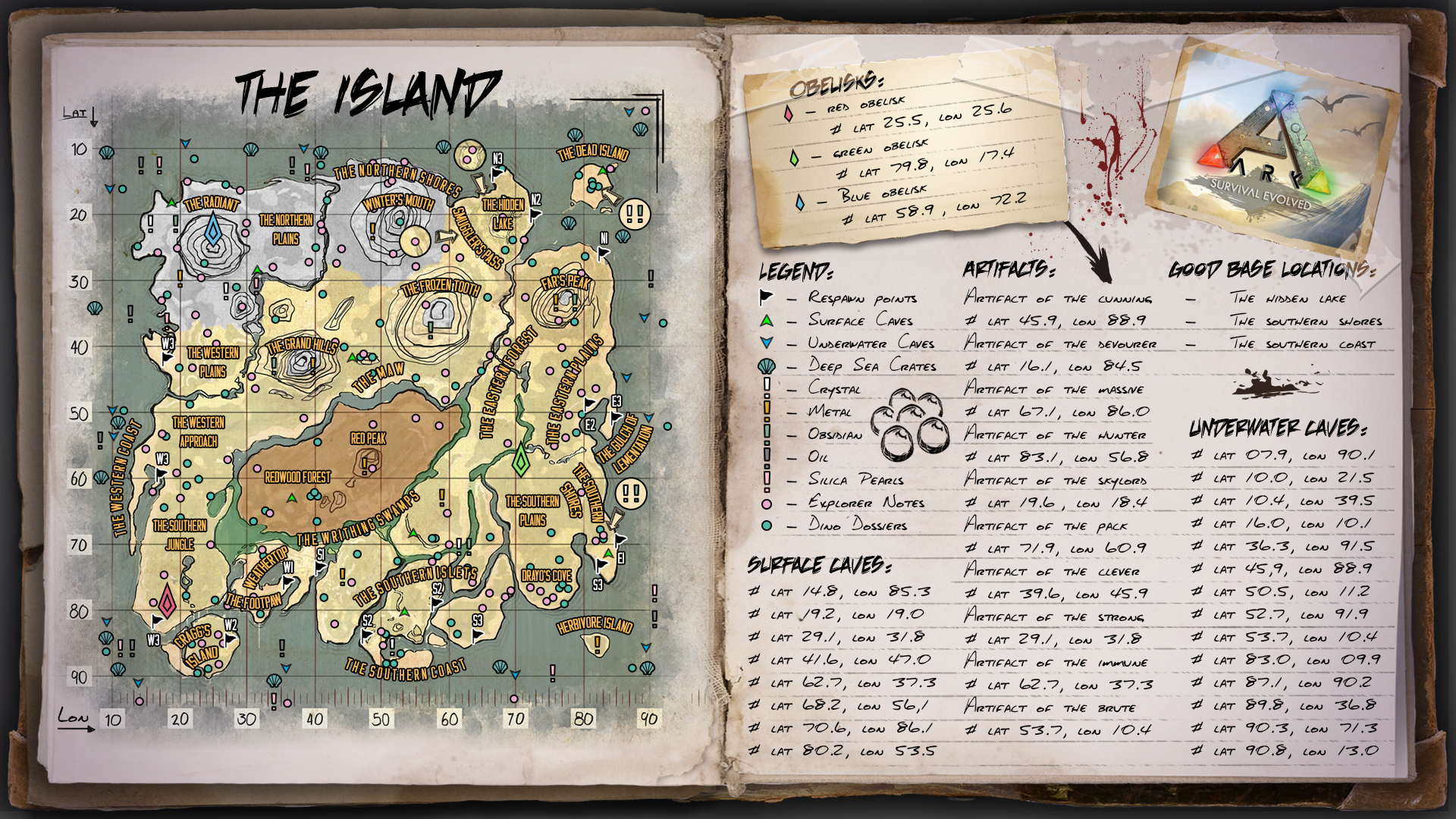 Steam Community Guide En Ark Infographs For Beginners Maps Skills Dinos Etc They can also drop as rare loot when catching fish with a fishing rod. en ark infographs