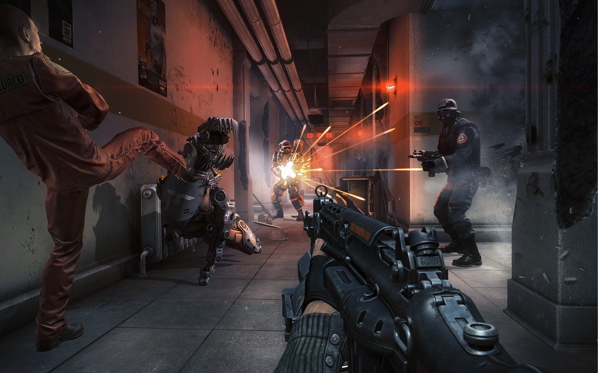 third person shooter video game - HD1920×1200