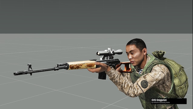 Steam Workshop :: Old AKs Ar15s mods for Arma3 fixed version