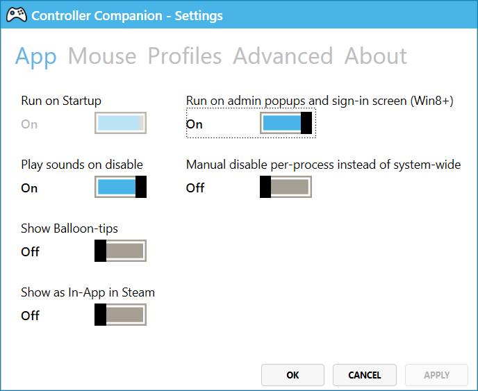 Steam Community :: Guide :: How to enable UWP controls