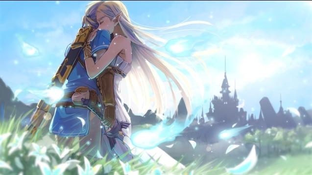 Steam Workshop 1080p The Legend Of Zelda Botw Zelda