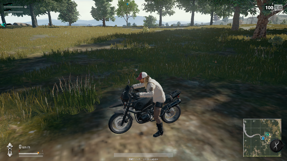 Мотоцикл в пубг