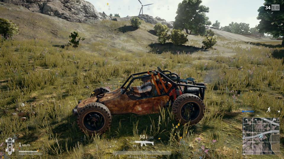 гайды машин в PUBG