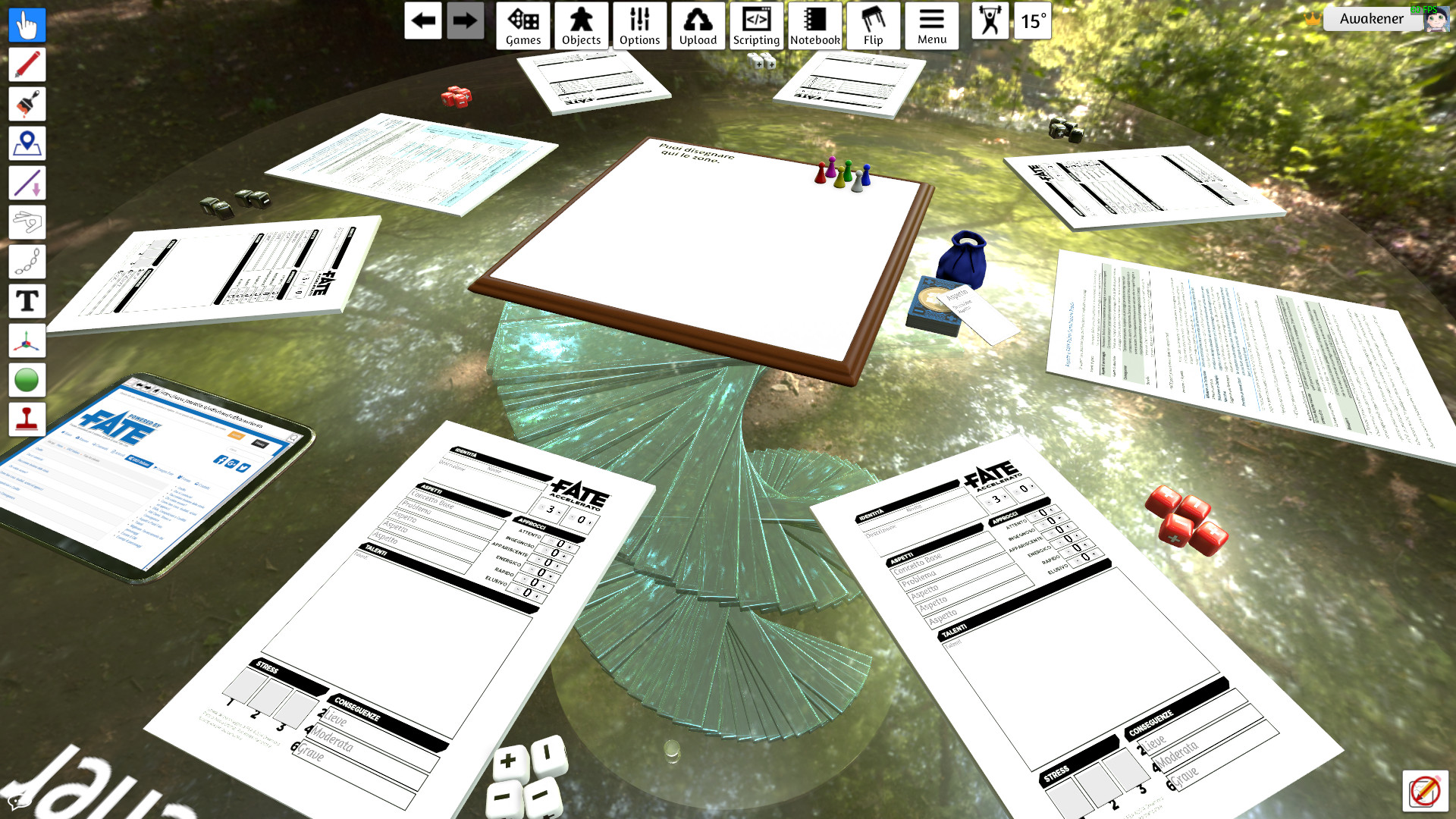 Steam Workshop :: RPGs character sheets, scripted and working