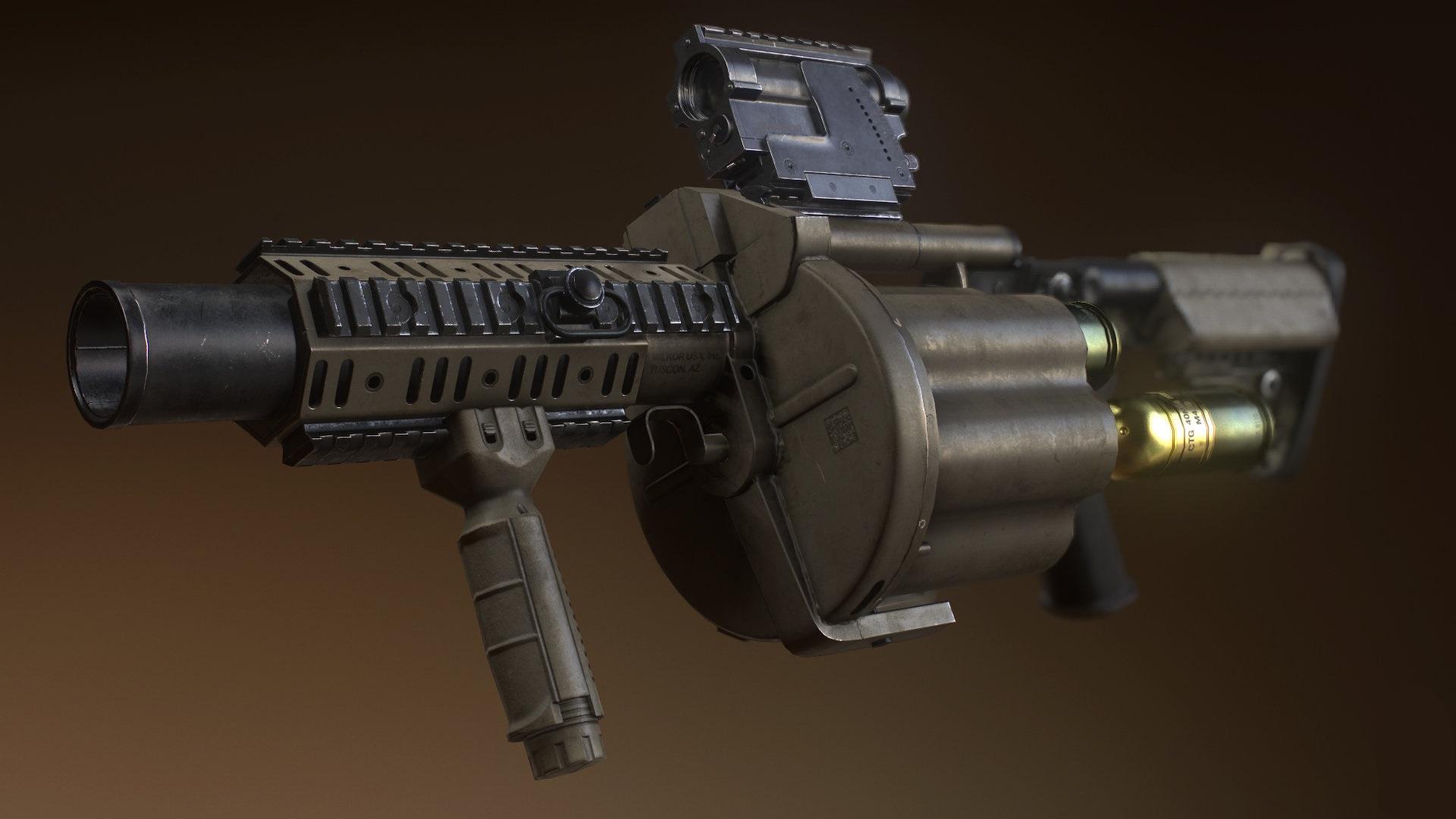 Steam Workshop :: OBOW: Grenade Launcher - M32 MGL script