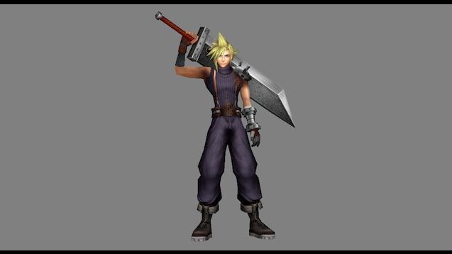 Steam Workshop Final Fantasy Dissidia 012 Ports Cloud