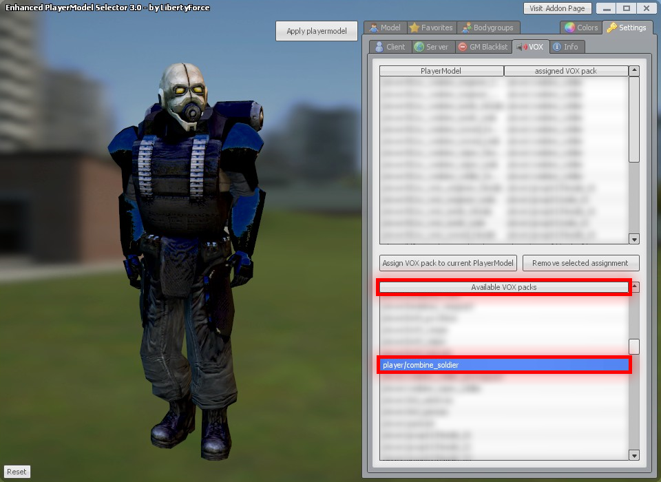Steam Community :: Guide :: Manually Assigning TFA-VOX Packs