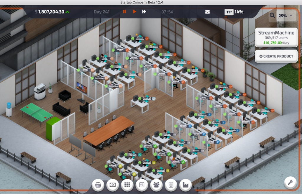 startup company game lead developer