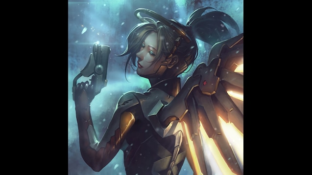 Mercy Live Wallpaper [Overwatch