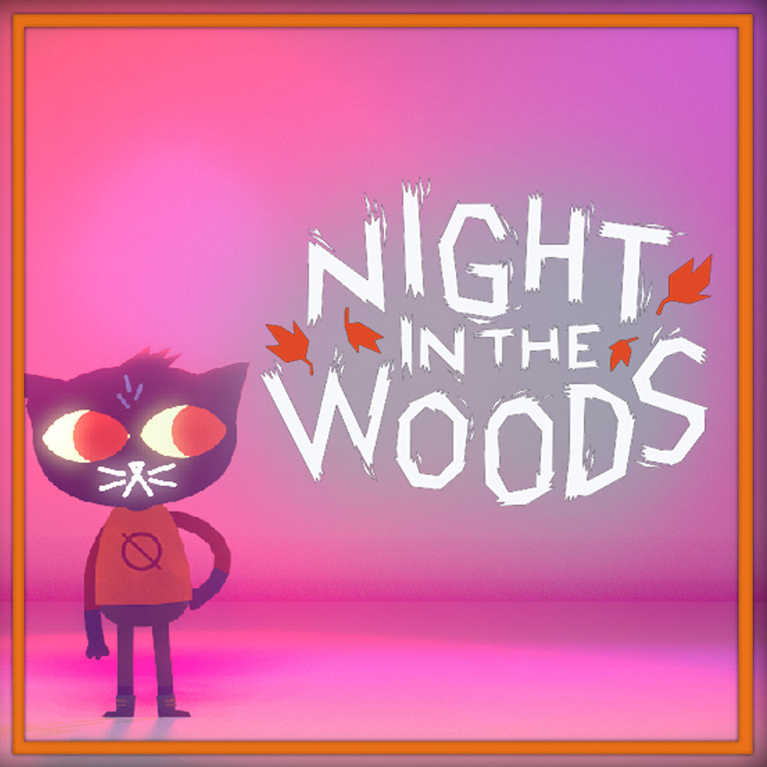 night in the woods nackt