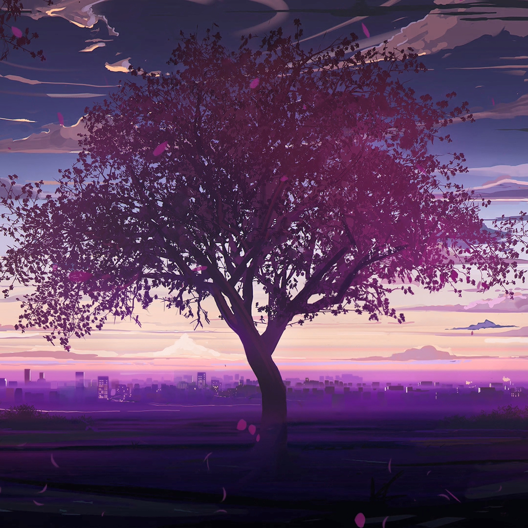 Wallpaper Engine - Crimson Tree,Toward Evening——Love,Money,RocknRoll