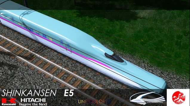 Steam Workshop :: Shinkansen E5 Series (10 Cars) Bullet Train