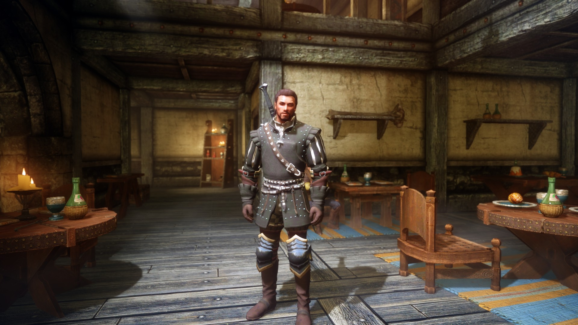 Steam Workshop :: The Witcher 3 Nilfgaardian armor set