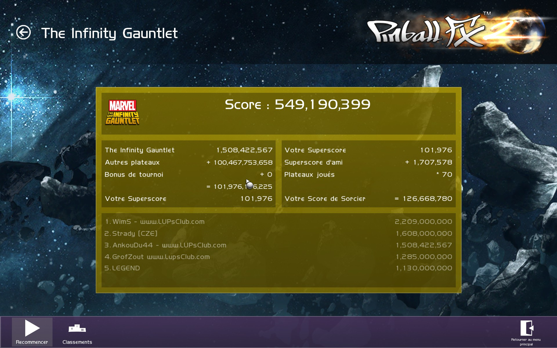 LUP's Club TdM 08.17 : The Infinity Gauntlet 9FCD0E73ED41E9550434C6EE6EF4EC8D4A8A58C2