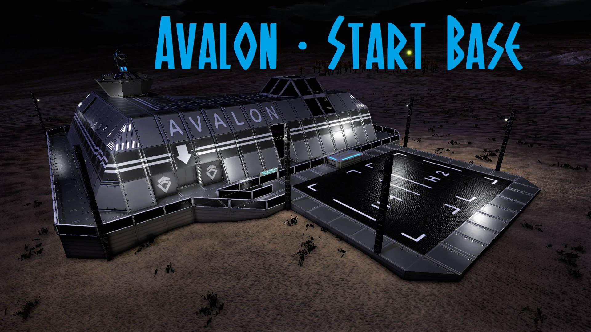 Avalon Start Base(3 lvl) (UPDATE)