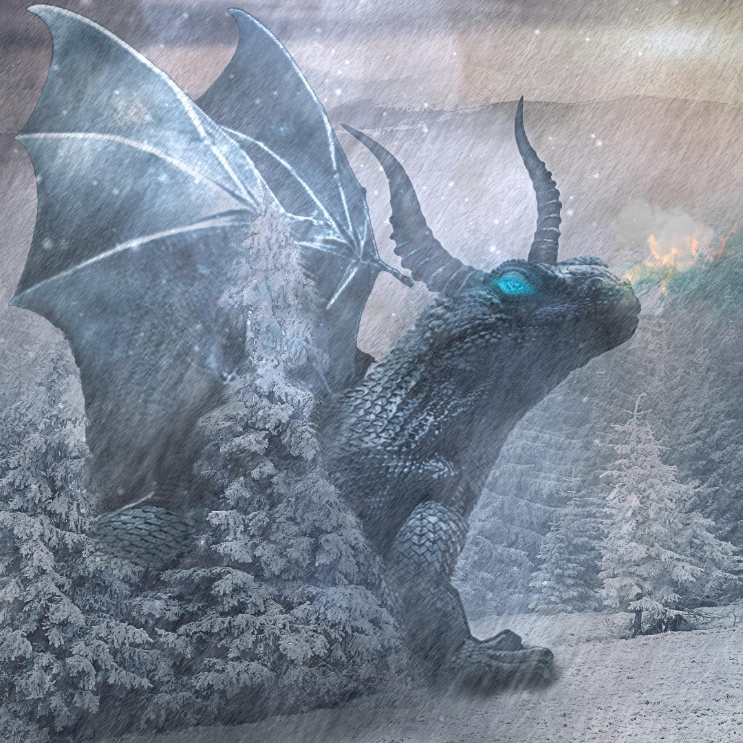 Ice-Dragon Wallpaper Engine