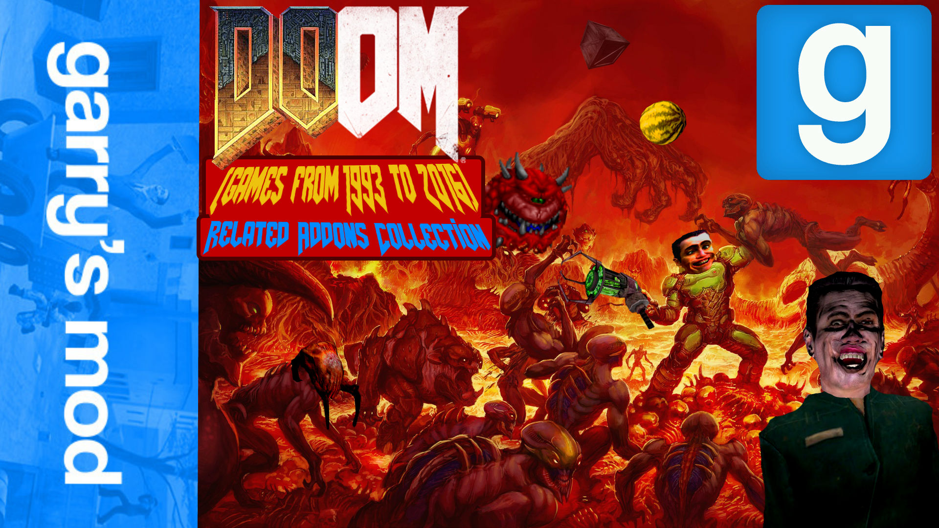 Steam Workshop :: Doom (from 1993 to 2016) related Addons
