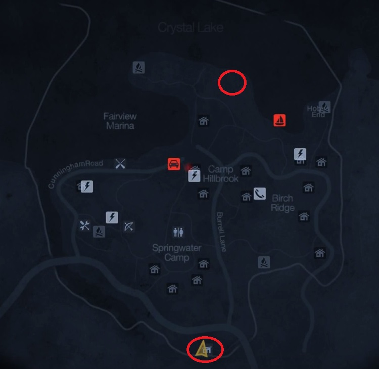 jasons cabin locations - 750×730