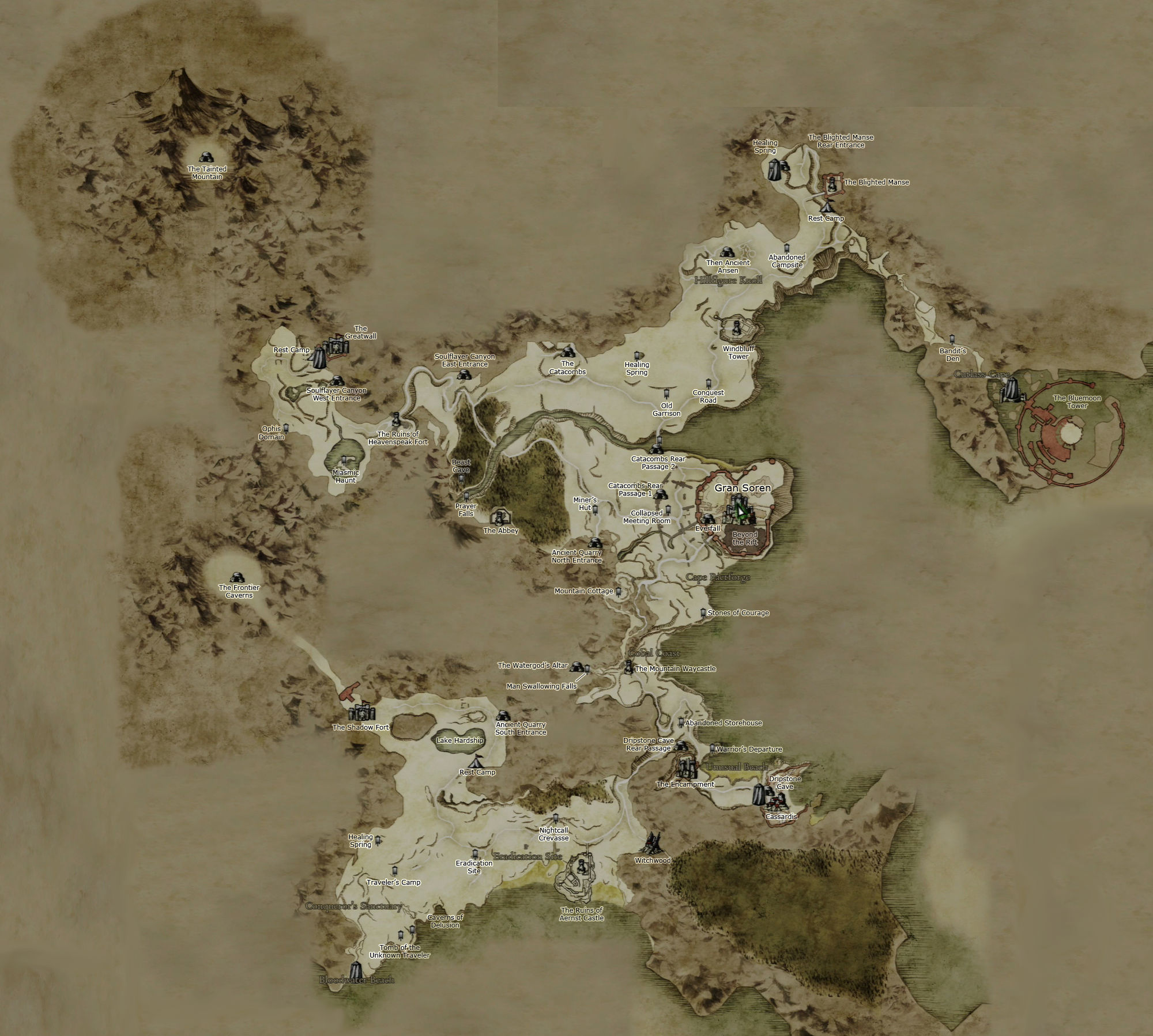 Dragons Dogma Map Steam Community :: Guide :: Achievement guide, 59/59