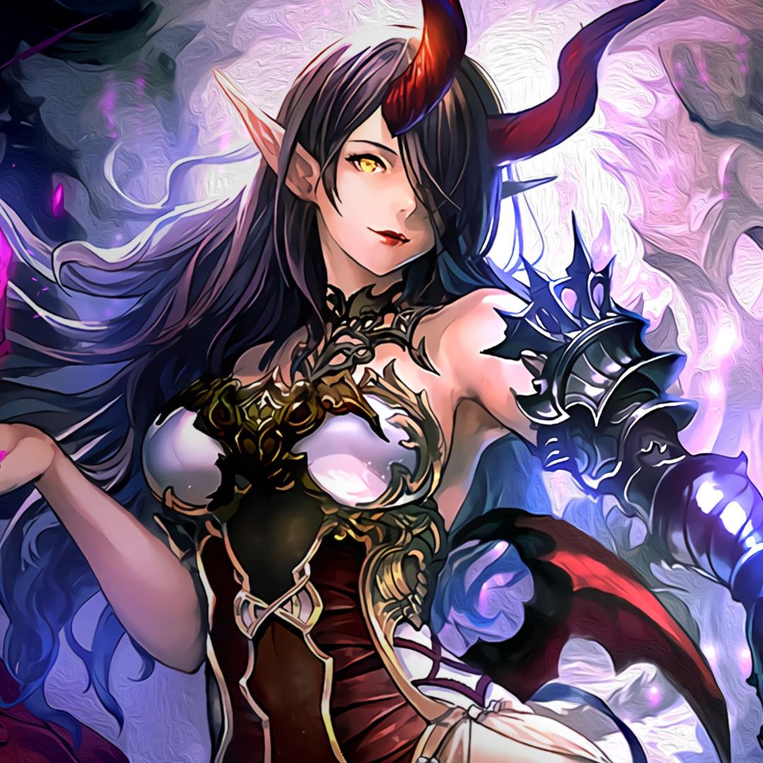 Belphegor Alt Art Shadowverse