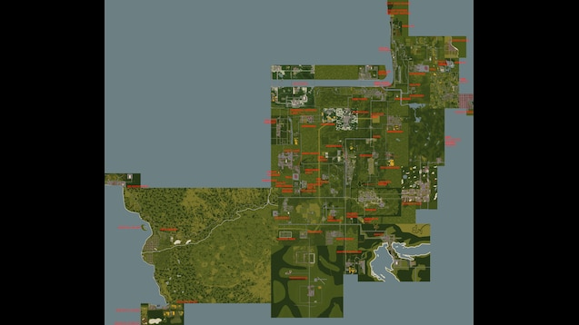 Steam Workshop All In Zomboid Map Pack Sp Splitscreen